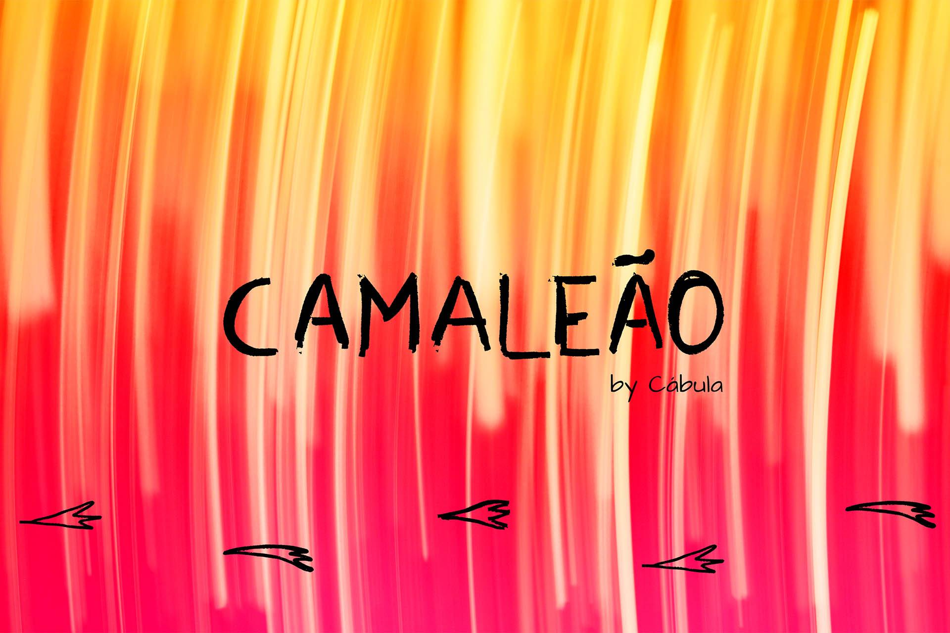 Cábula - Camaleão - Single Banner